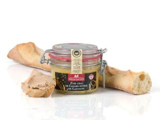 Whole duck foie gras from Gascogny 130g
